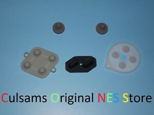 NEW Super Nintendo SNES Controller Replacement Button Pads Repair Kit Parts