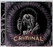 Criminal – Fear Itself CD (2016) Death Metal Thrash - Brujera/Pentagram