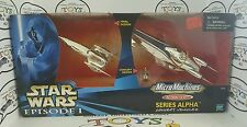 Star Wars Episode I Royal Starship Micro machines Series Alpha /Concept Vehicles