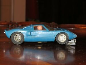 Vintage Aurora Strombecker Cox FORD GT40 Slot Car 1/32 Scale RUNNING!  a BEAUTY!