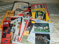 Tottenham Hotspur Home Teams Testimonial Football Programmes