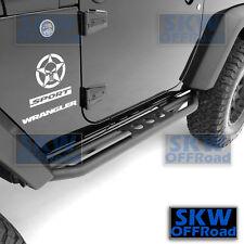 All 2 Door Step Armor Rock Sliders Rocker Guard Nerf Bar for 07-17 Jeep Wrangler