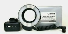 【MINT In Box】Canon Ring Lite ML-3 Flash MACRO FLASH/EX From Japan #289