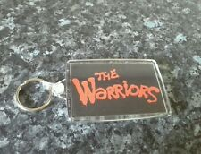The Warriors / Baseball Furies Jumbo Keyring. NEW. Different Image On Each Side
