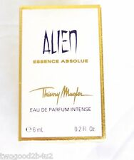 THIERRY MUGLER  ALIEN ESSENCE ABSOLUE 6 ML EDP +CUTE TOTE BAG FREE+ ATOMIZER