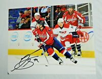 Nathan Walker Signed 8x10 Photo Washington Capitals Autographed