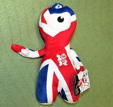 WENLOCK UNION JACK London OLYMPICS Plush Stuffed Character Doll 2012 NWT Sports