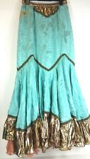 TIZIANO MAZZILLI Full Circle  Long Skirt Swing Belly Dance Costume Jupe A653-19