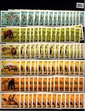 # 10X AJMAN - MNH - ANIMALS - ZEBRA - CAMEL - LION - ELEPHANT - WHOLESALE