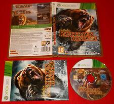 CABELA'S DANGEROUS HUNTS 2013  XBOX 360 Versione Italiana 1ª Ed ○ COMPLETO - FG