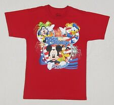 Disney Mickey Mouse, Pluto, Donald Duck, and Goofy T-Shirt size Small