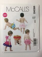 McCall's 6345 Infants' Diaper Covers Wings
