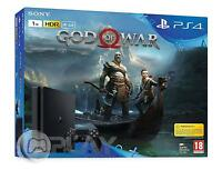PS4 Slim 1Tb Consola Playstation 4 + God Of War