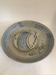 Ceramic plate Ivo De Santis Gli Etruschi, Raymor, Rosenthal Netter,Bitossi