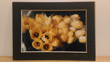 Art Home Decor Hanging Photo Paper Frame Spring Yellow Daffodils signed byPerme!