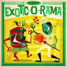 Exotic-O-Rama LP & CD Jukebox Music Factory 2016 El Vidocq comp