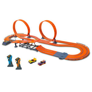 Hot Wheels 1:43 2.4G 760cm Anti-Gravity Slot Cars Track/Wireless Controller Toy