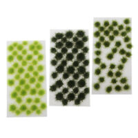 120pcs 5mm Fields Scenic Base Toppers Scenery Model Gamers Grass Tufts