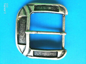 """SOLID METAL ALLOY RETRO NEW BELT STRAP PRONG PIN BUCKLE REPLACEMENT 40mm/1.5"""""""