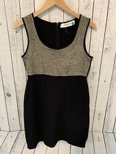 SPARROW ANTHROPOLOGIE Merino Wool Sleeveless Knee Length Dress Medium F3