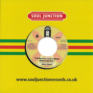 Jesse James If A Man Ever Loved A Woman / Divided Love Northern Soul Listen