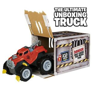 The Animal - Interactive Unboxing Toy Truck w/ Retractable Claws, Lights & Sound