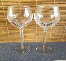 RARE Waterford Sheila (2) Balloon Wine Glasses 16oz ea.
