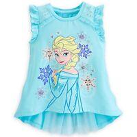 Disney Frozen Elsa Fashion Top - Size 5/6 NWT Girls