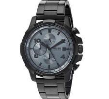 Fossil FS 5213 Dean original Herren Armbanduhr schwarz Edelstahl neu OVP