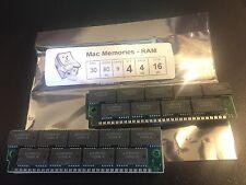 4x 4MB 30-Pin 80ns 9-Chip Parity FPM Memory SIMMs 16MB Apple Macintosh II 4Mx9