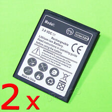 New Extended Slim 2x 2600mA Battery For T-Mobile Samsung Galaxy Exhibit SGH-T599