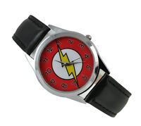 DC Universe The Flash Superhero Boy Child Fashion Watch Xmas Wrist SDBZ