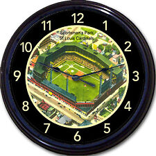 Sportsman Park Old Busch Stadium Wall Clock St Louis Cardinals Browns Musial 10""