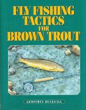 BUCKNALL FLYFISHING BOOK FISHING TACTICS FOR BROWN TROUT hardback BARGAIN new