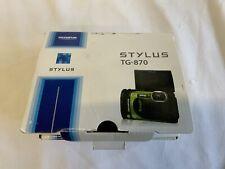 Olympus Stylus Tough TG-870 16MP Digital Camera - Green