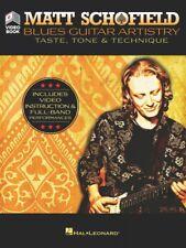 Matt Schofield Blues Guitar Artistry Instructional Book and Video 000294957