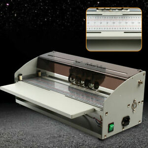 "Electric Labor-saving 18"" 460mm Perforator Paper Creasing Machine Scoring Paper"