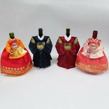 Wine Bottle Cover Set of 4 Korean Traditional Hanbok Clothes