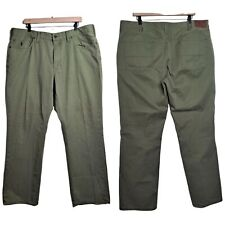 Polo Ralph Lauren Mens Chino Jeans Khakis 40x30 Olive Green Five Pocket Straight