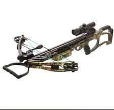 2018 PSE Thrive 365 Crossbow Package Mossy Oak Country Camo Illuminated Scope