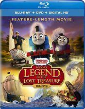 Thomas & Friends Sodor's Legend Of The Lost Treasure (Blu-Ray/DVD / Digital) New
