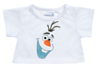 Build A Bear Workshop Frozen Olaf Tee NEW