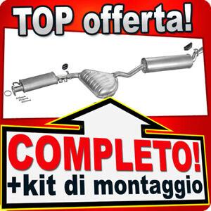 Scarico Completo per ALFA ROMEO 155 1.7 1.8 2.0 2.5 8V 2.5 V6 1992-1996 Marmitta