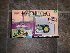 ERTL John Deere 630 LP farming TRACTOR Harvest Heritage Series 2 w/ Cards NEW