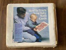 How To Teach Your Baby Math Cards (flash cards for the Glenn Doman method)