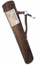 TARGET REAL COW HAIR LEATHER SIDE / HIP ARROW QUIVER  ARCHERY PRODUCT AQ-113 H