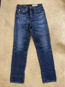 AG Adriano Goldschmied The Phoebe Vintage High wasted Taper women jeans size 25