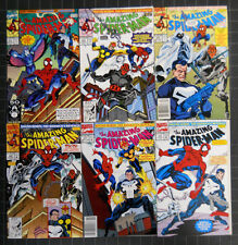 AMAZING SPIDERMAN 1991 #353 TO 358 COMP. VF+ SIDEKICK'S REVENGE SO MANY GUESTS!
