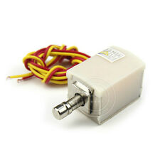 Mini Electric Drawer Cabinet Deadbolt Lock Locksmith Latch Desk Locker DC 12V