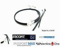 Mirror Wire 2AM Fuse For Uniden Escort S55,X80,Max, V1 Valentine Radar Detector